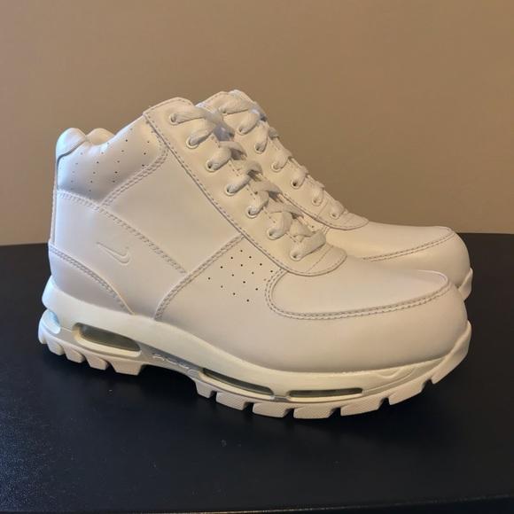 Nike Air Max Goadome White Boots | Poshmark